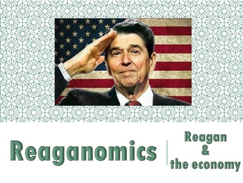 Ronald Reagan and the Economy Reaganomics PowerPoint (U.S.