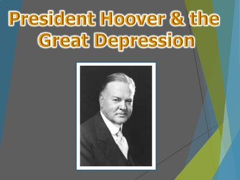Hoover & the Depression PowerPoint (U.S. History)