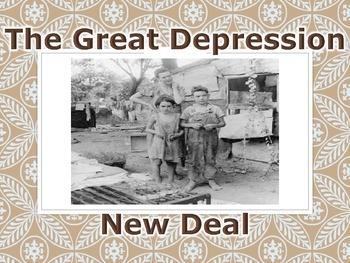 Great Depression & New Deal PowerPoint Presentation (U.S.