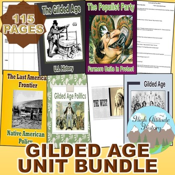 Gilded Age Unit (U.S. History) The West & The Gilded Age *