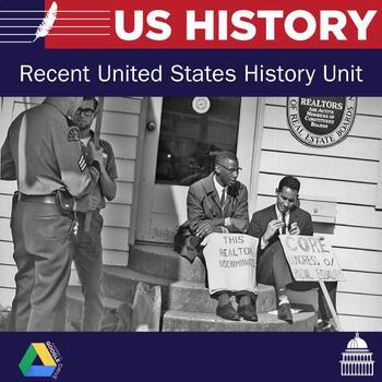 US History: Unit 9: Recent US History
