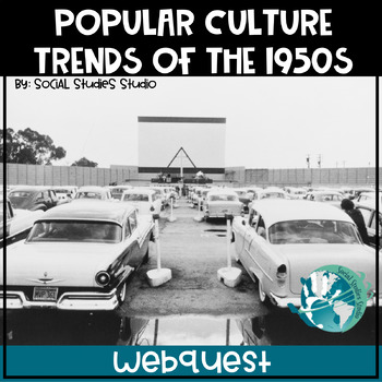 US History Webquest Lesson Plan: Popular Culture Trends in