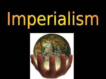 Imperialism in U.S. History Power Point Presentation