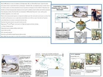 US Imperialism-Using Primary and Secondary Materials-DI's