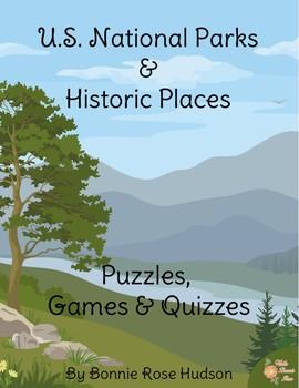 U.S. National Parks & Historic Places: Puzzles, Games, & Quizzes