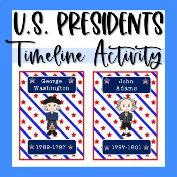 US President Flash Cards & Timeline Activity