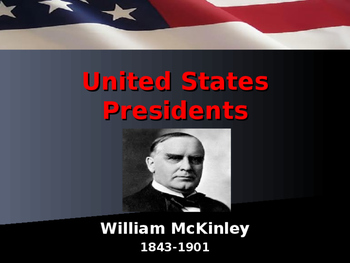 US Presidents - #25 - William McKinley - Summary