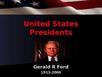 US Presidents - #38 - Gerald R Ford - Summary