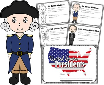 US Presidents Book for Kids