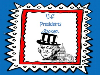 U.S Presidents Booklet
