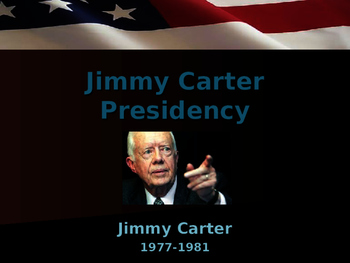 US Presidents - Jimmy Carter & Diplomacy