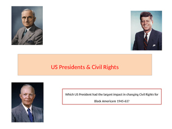 US Presidents and Civil Rights in America