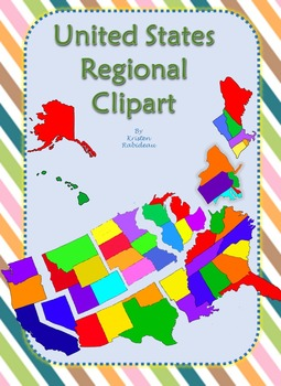 United States Regional Clipart