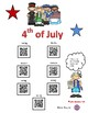 US SYMBOLS, 4th of JULY & the FIFTY STATES using QR CODES