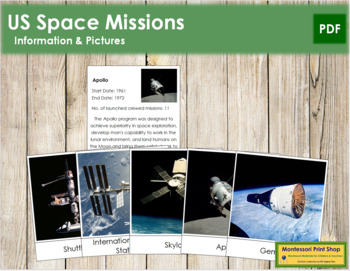 US Space Missions