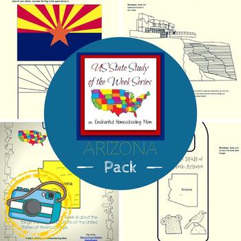 US State Study of the Week Weekly Series Arizona Pack