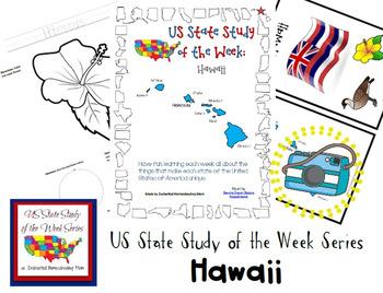 US State Study of the Week Weekly Series Hawaii Pack