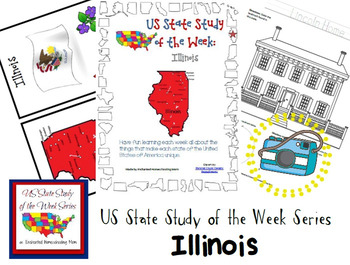 US State Study of the Week Weekly Series Illinois Pack
