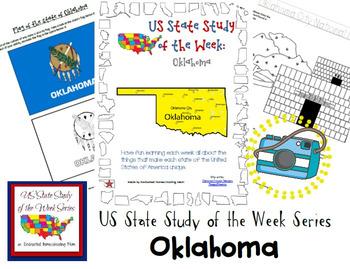 US State Study of the Week Weekly Series Oklahoma Pack
