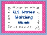U.S. States Maching Game