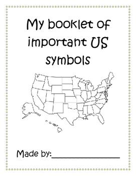 US Symbols Booklet