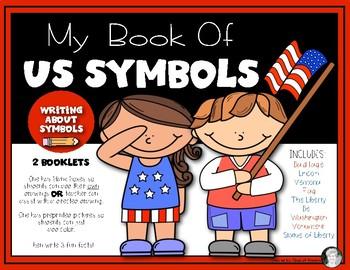 US Symbols Booklet (Eagle, Flag & More} Kindergarten & 1st