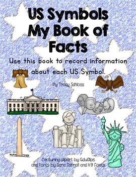 US Symbols Fact Collecting Book