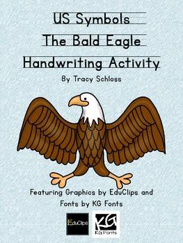 US Symbols, The Bald Eagle Handwriting