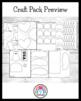 US Symbols / Veteran's Day Craft Pack: Eagle, USA Kids, Fl