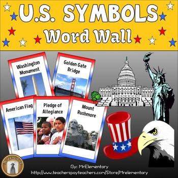 U.S. Symbols Word Wall