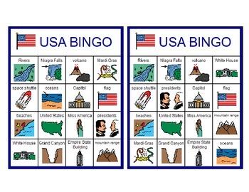 USA Bingo!