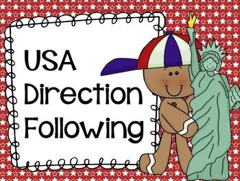 USA Direction Following