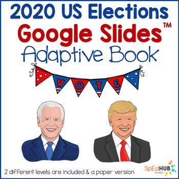 USA Election Adaptive Books