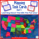 Mapping Task Cards USA Set 1