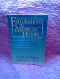 USED BOOK:  Explorations in American History: A Skills App