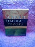 USED BOOK:  School Leadership that Works:  From Research t