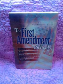 USED BOOK: The First Amendment in Schools