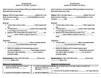 USI.9 Civil War Guided Notes