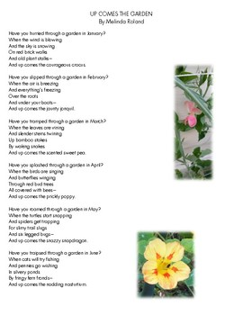 USING A GARDEN POEM TO GROW SKILLS