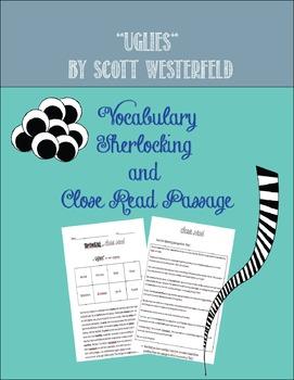 Uglies by Scott Westerfeld: Vocabulary Sherlocking and Close Read