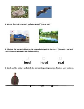 Ugly Duckling Comprehension Assessment