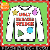 Ugly Sweater Speech & Language Craft