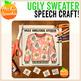 Ugly Sweater Speech & Language Craft