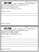 Uh-Oh Incomplete Homework Accountability Form