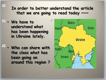 Ukraine and What NATO IS Doing Current Event