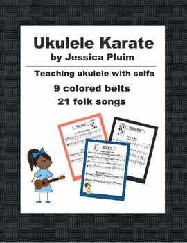 Ukulele Karate Kit - key of D