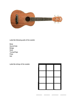 Ukulele Packet