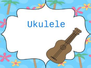 Ukulele Songs Using C, F, and G7 Chords