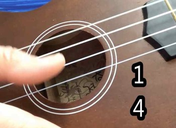 Ukulele: Twinkle Song Duet on Open Strings play along song