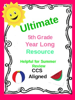 Ultimate 5th/6th Grade Resource - CCA - Summer Practice